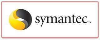 Ancien logo de la marque Symantec, solution d'anti-virus