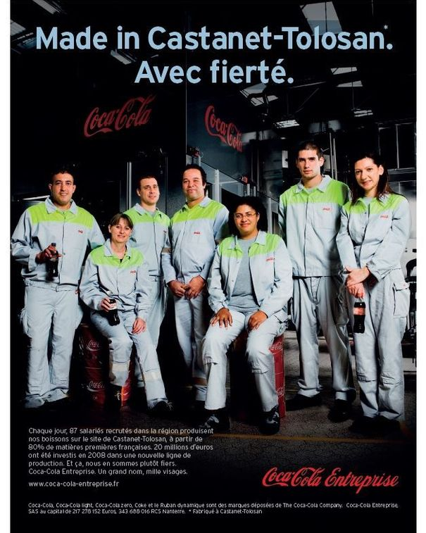 La publicité Coca Cola Made in France