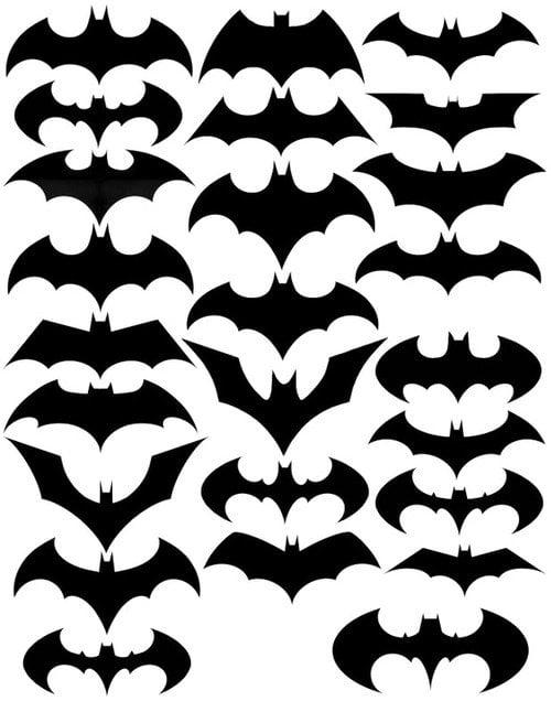 Evolution du logo de Batman