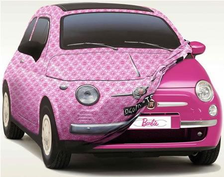 Co-branding : Fiat x Mattel (Barbie)