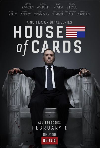Affiche de la webserie House of Cards