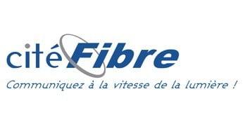 Logo Cité Fibre - Fournisseur d'Accès à Internet - Création Logo en Vue