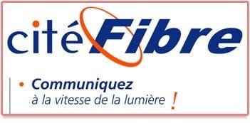 Logo Cité Fibre propriété du groupe Iliad