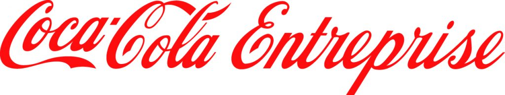 Le logo de Coca-Cola Entreprise