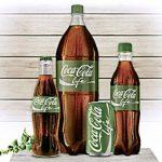 Le logo vert de Coca-Cola Life
