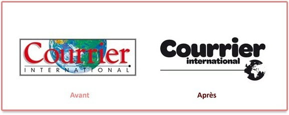 Logo du journal hebdomaraire Courrier International