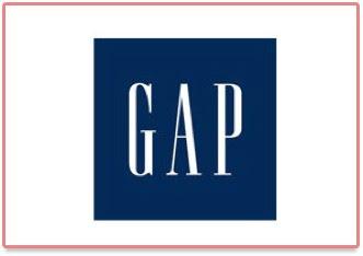 Logo de Gap, marque de vêtement