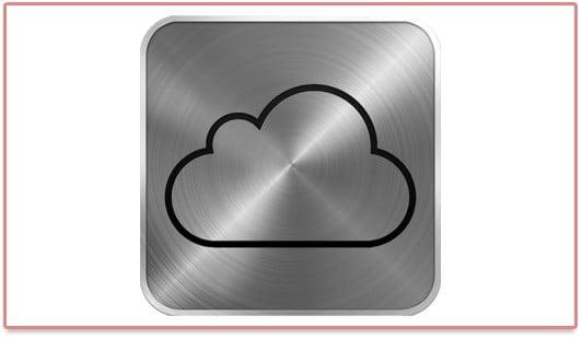 Le logo iCloud d'Apple