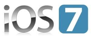Le logo d'iOS 7 - Système d'exploitation pour iPhone