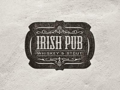 Logo Vintage - Irish Pub