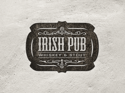 Logo Vintage - Irish Pub