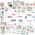 Les liens entre les marques mass market et les grands groupes