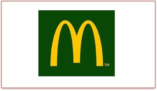 Nouveau logo vert de McDonald's