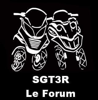Le logo de SGT3R, le forum sur les scooters trois roues
