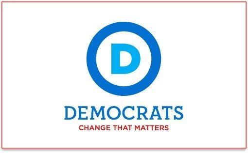 Logo et Slogan du Parti Démocrate