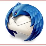 Le menu transparent et illisible de Mozilla Thunderbird 5.0