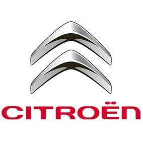 Le logo de la marque de voiture Citroën