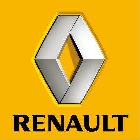 Le logo de la marque de voiture Renault