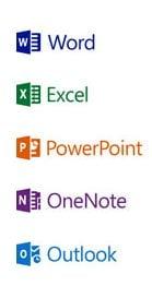 Logo Word - PowerPoint - Excel - Outlook