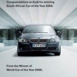 La bataille publicitaire de BMW, Audi, Subaru et Bentley
