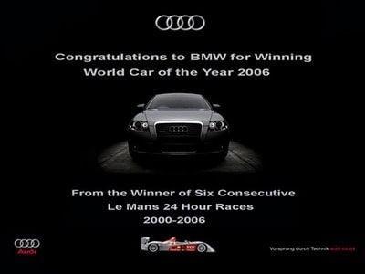 Publicité Audi