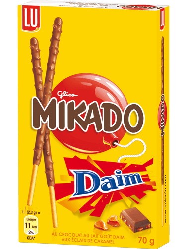 Co-branding : Mikado x Daim (Kraft Food)
