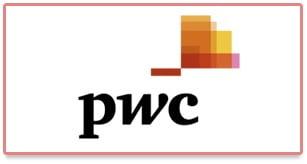 Nouveau logo de PricewaterhouseCooper (PwC)