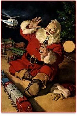 La publicité de Coca-Cola présentant le Père Noël