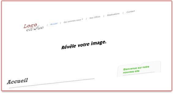Site internet - Agence de communication Logo en Vue