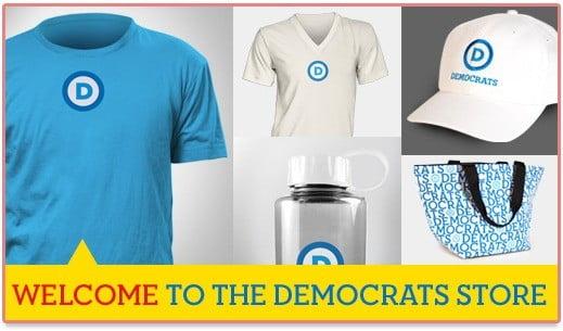 Site marchand du Parti Démocrate