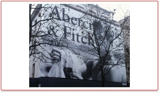 Logo Abercrombie & Fitch à Paris
